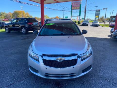 2012 Chevrolet Cruze for sale at Best Motor Auto Sales in Geneva OH