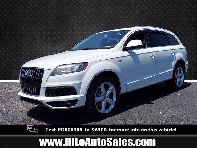 2014 Audi Q7 for sale at Hi-Lo Auto Sales in Frederick MD