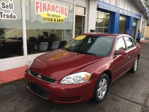 Used Chevrolet Impala For Sale In Dayton Oh Carsforsale Com