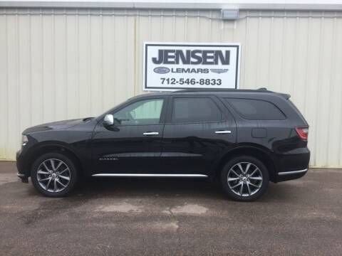2020 Dodge Durango for sale at Jensen's Dealerships in Sioux City IA