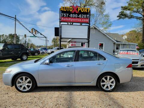 2005 Acura TSX for sale at Autoxport in Newport News VA