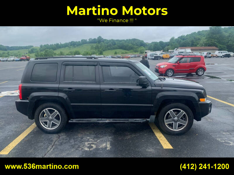 2009 Jeep Patriot for sale at Martino Motors in Pittsburgh PA