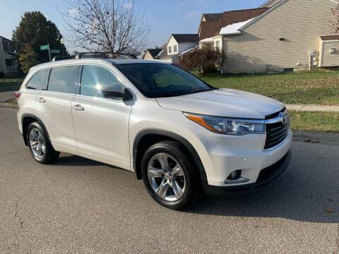 2015 Toyota Highlander for sale at Via Roma Auto Sales in Columbus OH