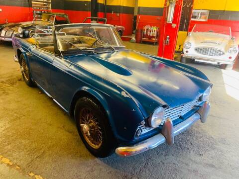 1966 Triumph TR4 for sale at Milford Automall Sales and Service in Bellingham MA