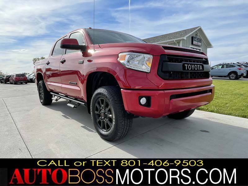 2017 Toyota Tundra for sale at Auto Boss in Woods Cross UT