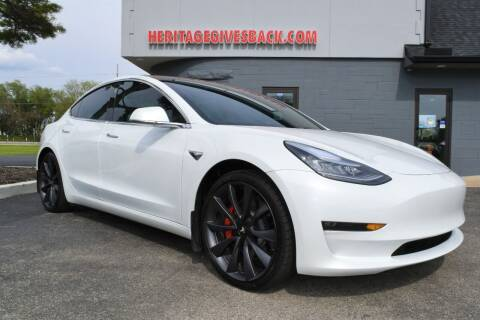 2020 Tesla Model 3 for sale at Heritage Automotive Sales in Columbus in Columbus IN