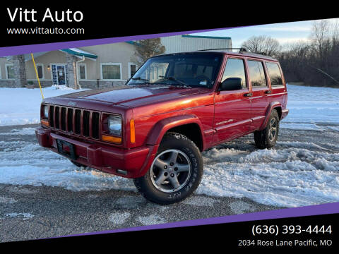 1999 Jeep Cherokee for sale at Vitt Auto in Pacific MO