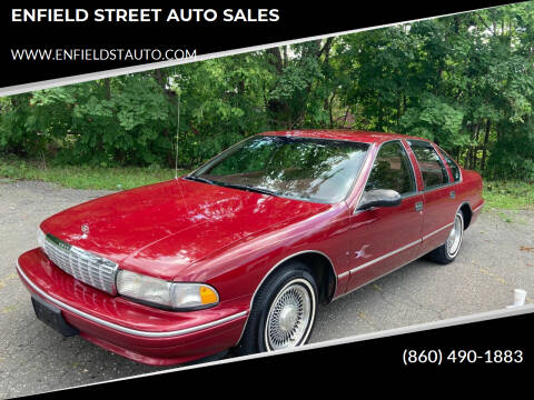 1995 Chevrolet Caprice for sale at ENFIELD STREET AUTO SALES in Enfield CT