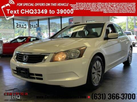 2010 Honda Accord for sale at CERTIFIED HEADQUARTERS in Saint James NY