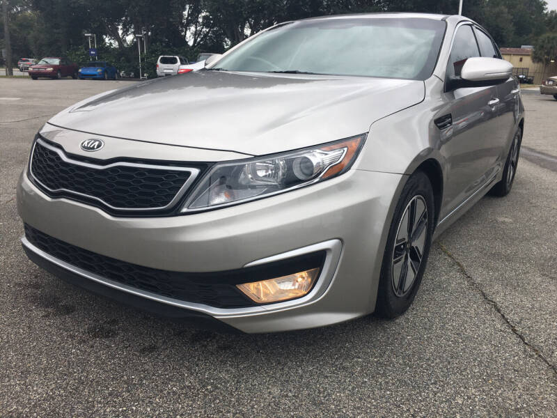 2013 Kia Optima Hybrid for sale at Capital City Imports in Tallahassee FL