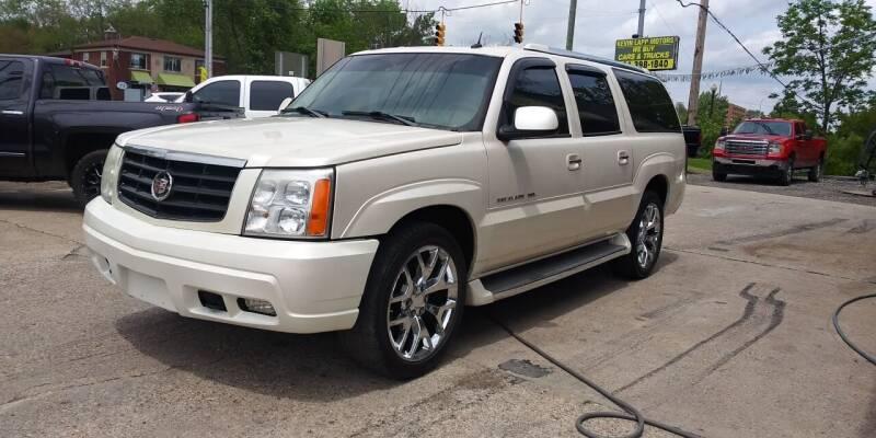 2005 Cadillac Escalade ESV for sale at Kevin Lapp Motors in Flat Rock MI