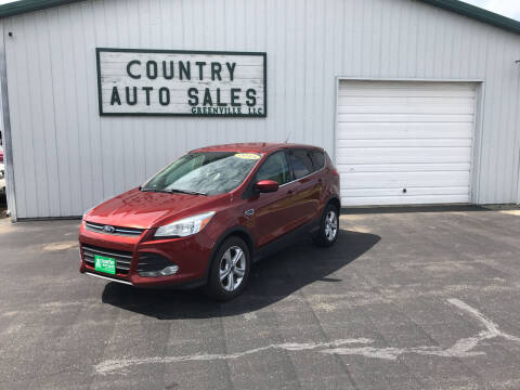 2015 Ford Escape for sale at COUNTRY AUTO SALES LLC in Greenville OH
