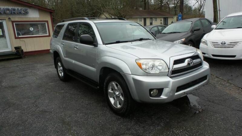 2007 Toyota 4Runner for sale at E-Motorworks in Roswell GA
