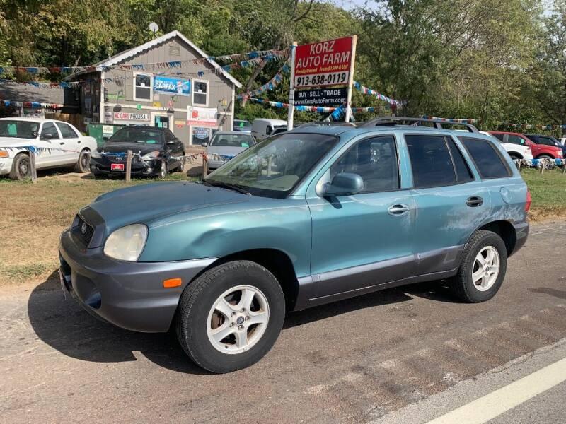 2003 Hyundai Santa Fe for sale at Korz Auto Farm in Kansas City KS