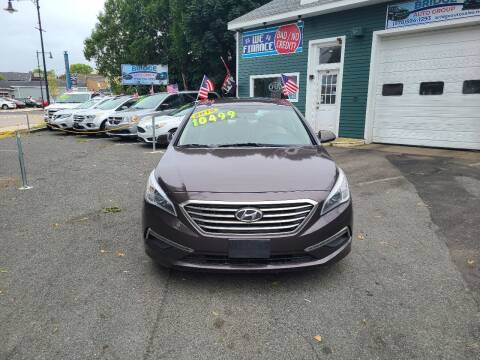 2015 Hyundai Sonata for sale at Bridge Auto Group Corp in Salem MA