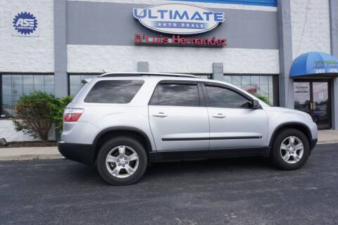 2009 GMC Acadia for sale at Ultimate Auto Deals DBA Hernandez Auto Connection in Fort Wayne IN
