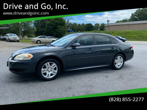 2013 Chevrolet Impala for sale at Drive and Go, Inc. in Hickory NC