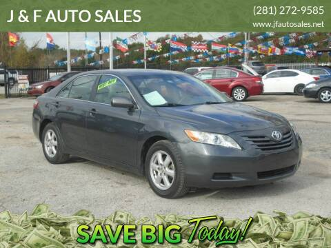 2008 Toyota Camry for sale at J & F AUTO SALES in Houston TX