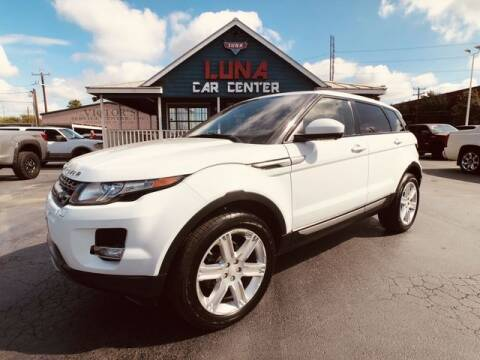 2015 Land Rover Range Rover Evoque for sale at LUNA CAR CENTER in San Antonio TX