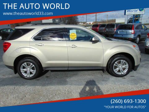 2014 Chevrolet Equinox for sale at THE AUTO WORLD in Churubusco IN