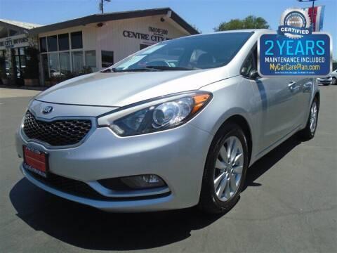 2014 Kia Forte for sale at Centre City Motors in Escondido CA