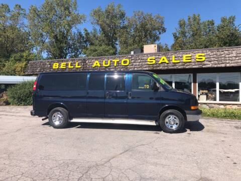 2008 Chevrolet Express Passenger for sale at BELL AUTO & TRUCK SALES in Fort Wayne IN