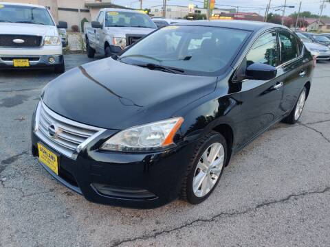 2014 Nissan Sentra for sale at ASHLAND AUTO SALES in Columbia MO