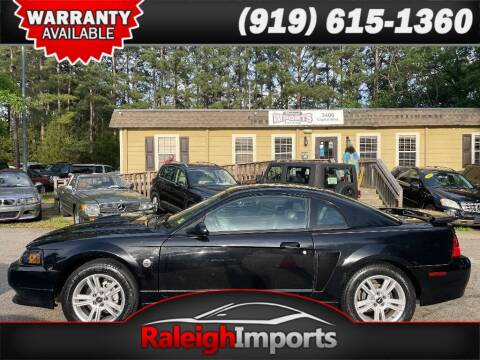 2004 Ford Mustang for sale at Raleigh Imports in Raleigh NC