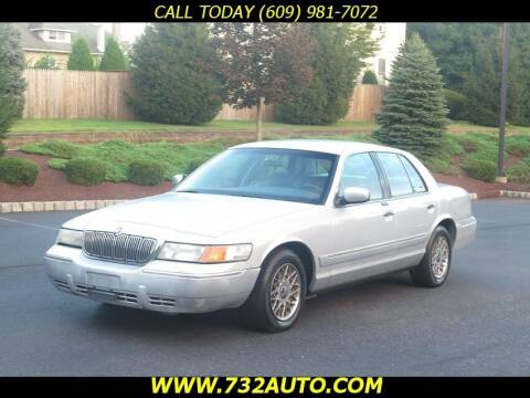2001 Mercury Grand Marquis for sale at Absolute Auto Solutions in Hamilton NJ
