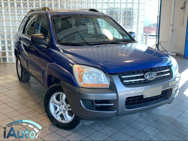 2005 Kia Sportage for sale at iAuto in Cincinnati OH