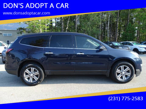 2015 Chevrolet Traverse for sale at DON'S ADOPT A CAR in Cadillac MI