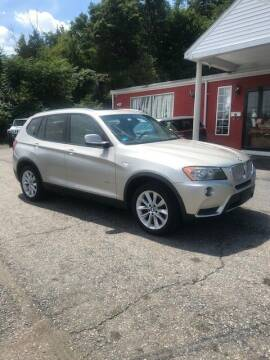 2012 BMW X3 for sale at Zinks Automotive Sales and Service - Zinks Auto Sales and Service in Cranston RI