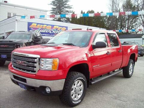2013 GMC Sierra 2500HD for sale at Auto Pro Auto Sales in Lewiston ME