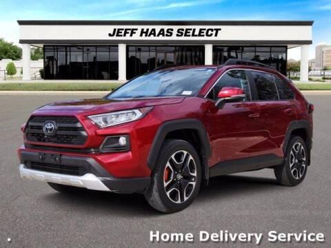 2019 Toyota RAV4 for sale at JEFF HAAS MAZDA in Houston TX