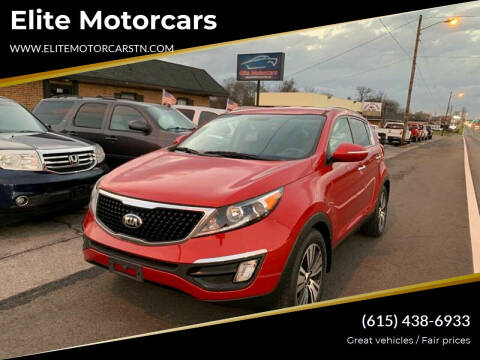2015 Kia Sportage for sale at Elite Motorcars in Smyrna TN
