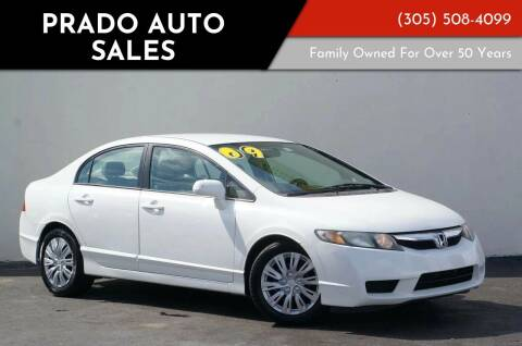 2009 Honda Civic for sale at Prado Auto Sales in Miami FL