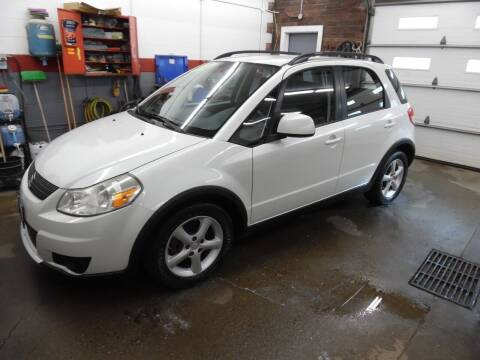 2008 Suzuki SX4 Crossover for sale at East Barre Auto Sales, LLC in East Barre VT