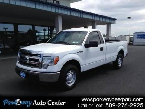 2013 Ford F-150 for sale at PARKWAY AUTO CENTER AND RV in Deer Park WA