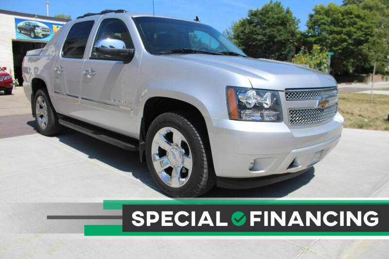 2011 Chevrolet Avalanche for sale at K & L Auto Sales in Saint Paul MN