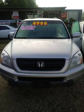 2005 Honda Pilot for sale at Finish Line Auto LLC in Luling LA