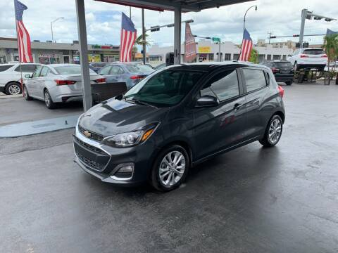 2020 Chevrolet Spark for sale at American Auto Sales in Hialeah FL