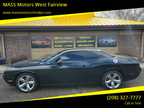 2014 Dodge Challenger for sale at MASS Motors West Fairview in Boise ID