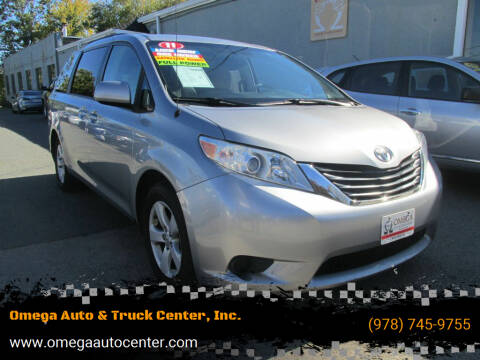 2011 Toyota Sienna for sale at Omega Auto & Truck Center, Inc. in Salem MA