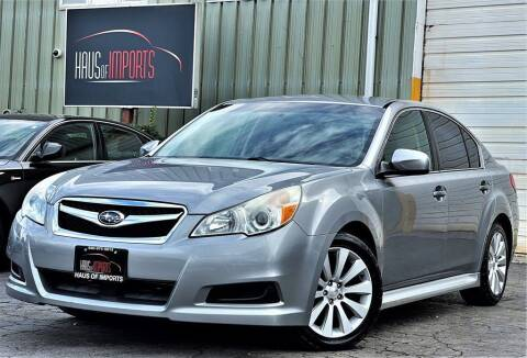 2010 Subaru Legacy for sale at Haus of Imports in Lemont IL