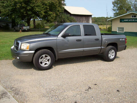2005 Dodge Dakota for sale at Summit Auto Inc in Waterford PA