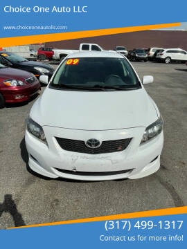 2009 Toyota Corolla for sale at Choice One Auto LLC in Beech Grove IN