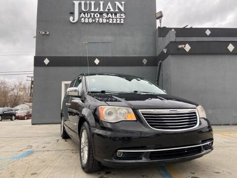 2012 Chrysler Town and Country for sale at Julian Auto Sales, Inc. in Warren MI