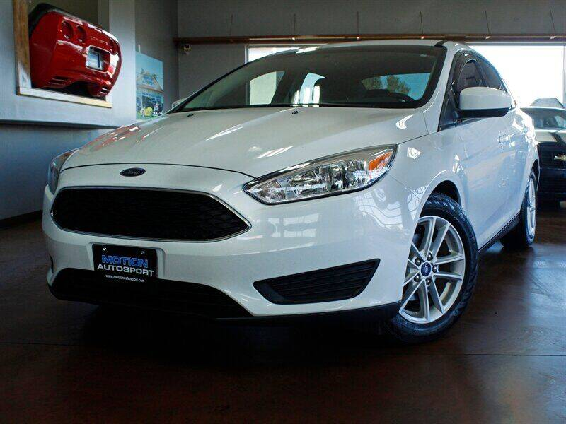 2018 Ford Focus for sale at Motion Auto Sport in North Canton OH