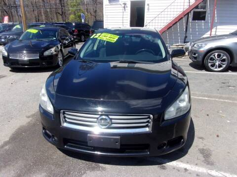 2012 Nissan Maxima for sale at Balic Autos Inc in Lanham MD
