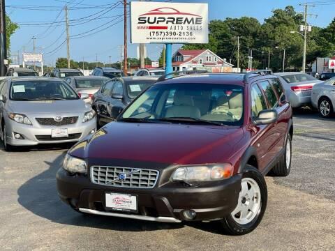 2002 Volvo XC for sale at Supreme Auto Sales in Chesapeake VA